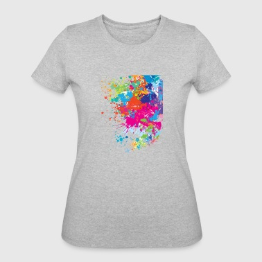Printed art - Women's 50/50 T-Shirt
