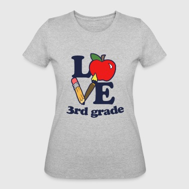I love 3rd Grade - Women's 50/50 T-Shirt