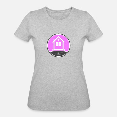 Tiny Tiny House Thow Tiny Home Tiny Living Tiny House - Simplify Your LIfe - Women's 50/50 T-Shirt