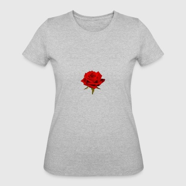 The rose A Rose is a Rose - Women's 50/50 T-Shirt
