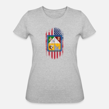 Sonora Sonora State American Flag - Women's 50/50 T-Shirt
