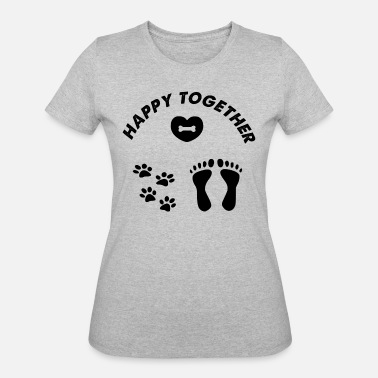 Happy Together Dog happy together - Women's 50/50 T-Shirt