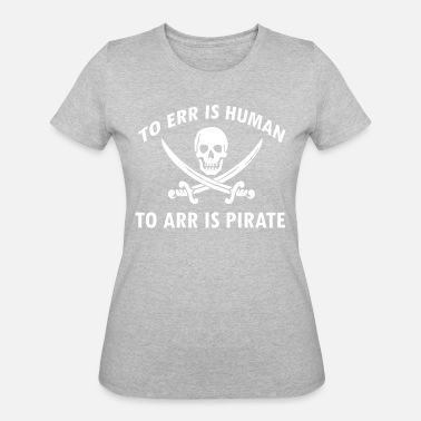 Pirate Designs Funny Pirate designs - Women's 50/50 T-Shirt