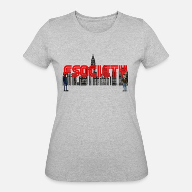 Robot 8 bit fsociety mr robot - Women's 50/50 T-Shirt