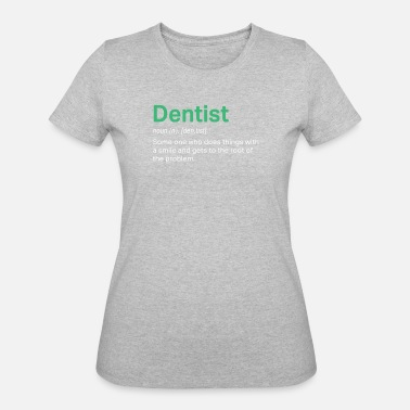 d9ee3c2f Awesome Dentist definition for funny gift - Women's 50/50 T