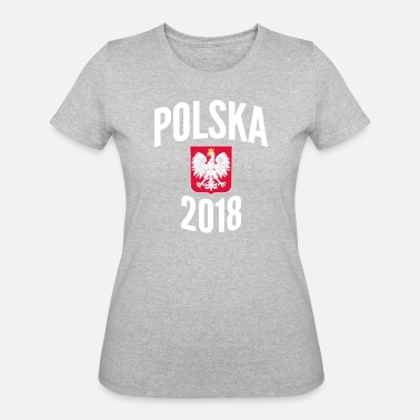 Polish Football Jersey Polska World Football Cup Poland Soccer Jersey -  Women s 50 50 T 7f6abc656e