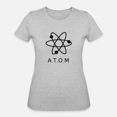 Atomic Age Atom - Women's 50/50 T-Shirt