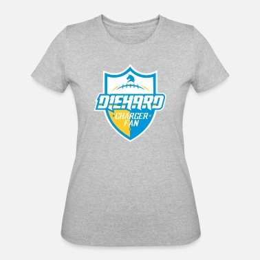 Diehard Fan DIEHARD CHARGER FAN - Women's 50/50 T-Shirt