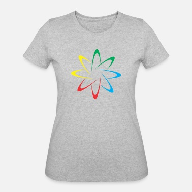 Colorful Circles Colorful Circles - Women's 50/50 T-Shirt