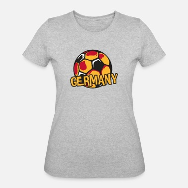 Fanshirt Germany Fanshirt - Women's 50/50 T-Shirt