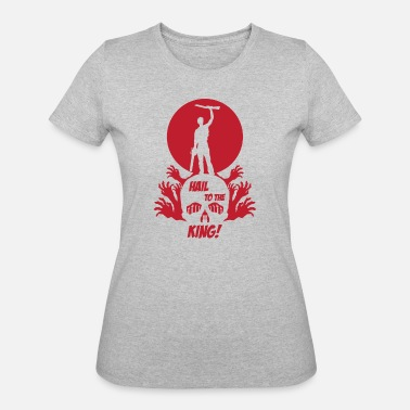 Ash HAIL TO THE KING - Women's 50/50 T-Shirt