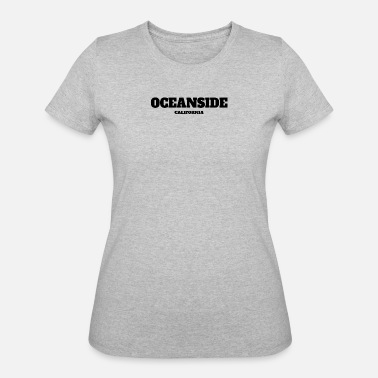 Oceanside CALIFORNIA OCEANSIDE US EDITION - Women's 50/50 T-Shirt
