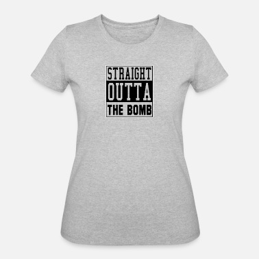 Quotes Cities Straight Outta The Tomb City Quote - Women's 50/50 T-Shirt