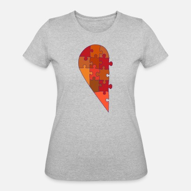Half Of Heart Male half heart - Women's 50/50 T-Shirt