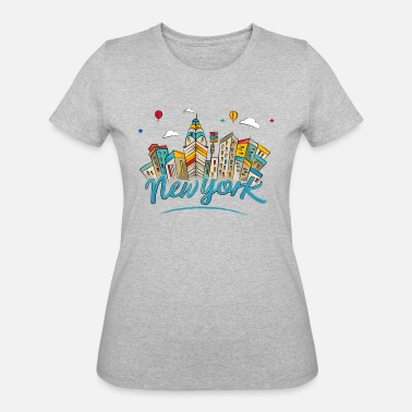 City College Of New York New York - Women's 50/50 T-Shirt