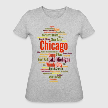 Chicago (Windy City; Illinois, USA) - Women's 50/50 T-Shirt