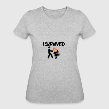 I survived 2017 - Women's 50/50 T-Shirt