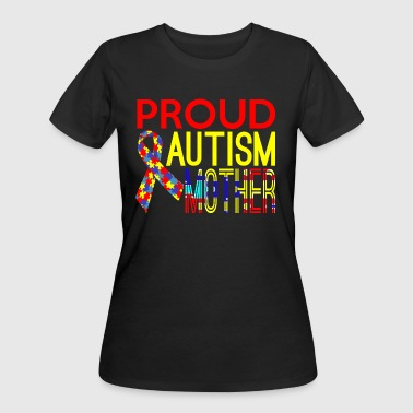 Proud Autism Mother Awareness - Women's 50/50 T-Shirt