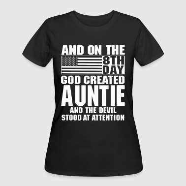 And on the 8th day god auntie and the devil stood - Women's 50/50 T-Shirt