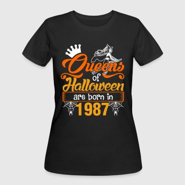 Born In 1987 Queens of Halloween are Born in 1987 - Women's 50/50 T-Shirt