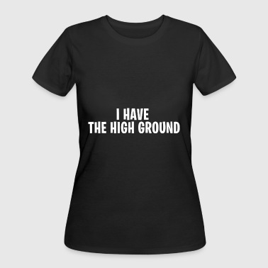 I have the high ground - Fortnite Battle Royale - Women's 50/50 T-Shirt