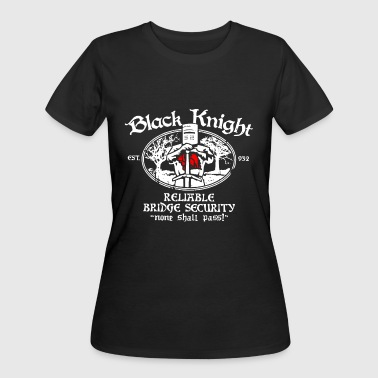 None Shall Pass Black knight est 932 reliable bridge security none - Women's 50/50 T-Shirt