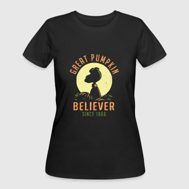 Great Pumpkin great pumpkin believer since 1966 - Women's 50/50 T-Shirt