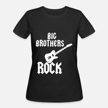 Splash Sisters Big Brothers Rock Little Sisters Roll Brother T Sh - Women's 50/50 T-Shirt