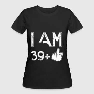 I am 39 plus one birthday t shirts - Women's 50/50 T-Shirt