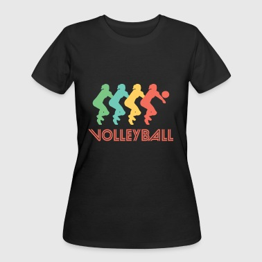 Volleyball Art Volleyball Pop Art - Women's 50/50 T-Shirt