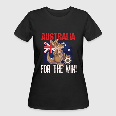 Soccer Football Championship Goal Nation Penalty Australia - Women's 50/50 T-Shirt