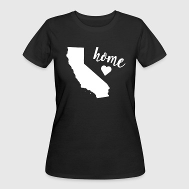 Home California Tshirt - Women's 50/50 T-Shirt