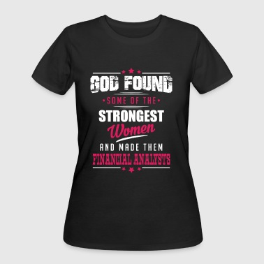 Financial Analysts Job - Women's 50/50 T-Shirt