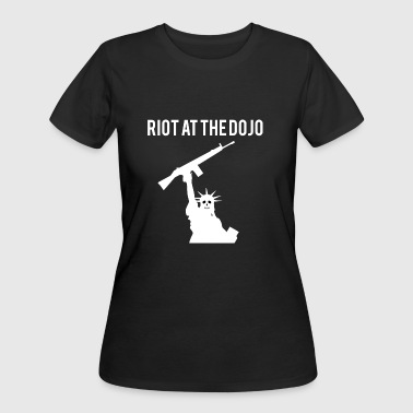 Riot at the Dojo - Women's 50/50 T-Shirt