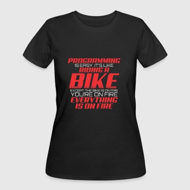 PROGRAMMING - Women's 50/50 T-Shirt