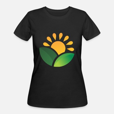 Obscure Sunrise Obscured Leaves - Women's 50/50 T-Shirt