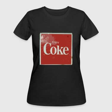 Enjoy Coke - Women's 50/50 T-Shirt