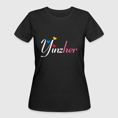 Pittsburghese Yinzher - Women's 50/50 T-Shirt