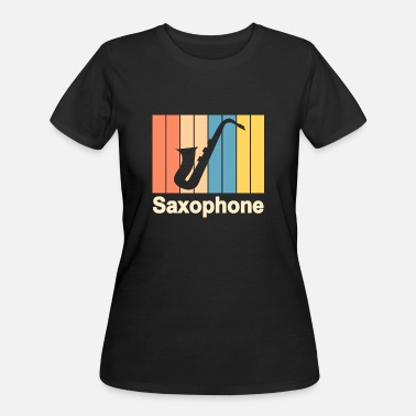Jazz Classic Geek Saxophone Sax Saxophonist Music Trumpet Teaching - Women's 50/50 T-Shirt