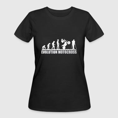 Adrenaline Jokes Motocross Enduro Trickjump - Women's 50/50 T-Shirt