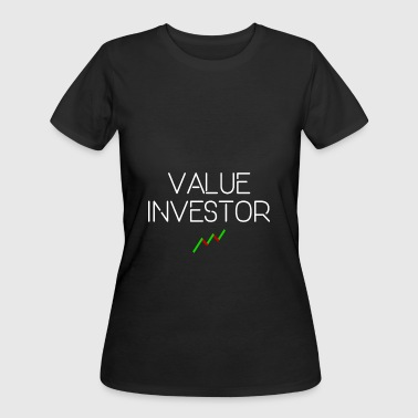 VALUE INVESTOR - Women's 50/50 T-Shirt