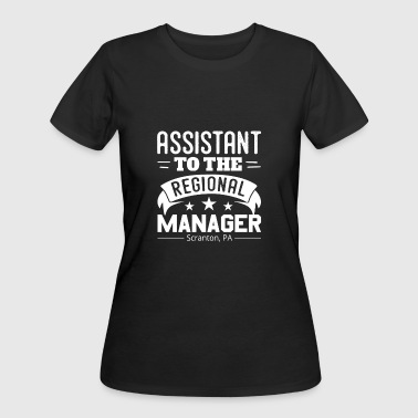 Regional Manager Funny Assistant To The Regional Manager Funny - Women's 50/50 T-Shirt