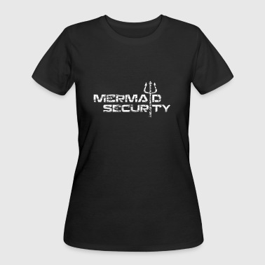 mermaid security - Women's 50/50 T-Shirt