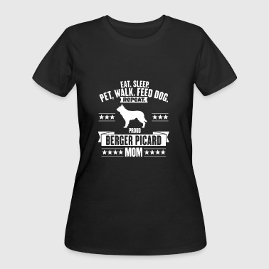 Berger Picard Dog Owner Picard Mom Lover Gift - Women's 50/50 T-Shirt