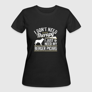 Berger Picard Dog Owner Picard Dog Lover Gift - Women's 50/50 T-Shirt
