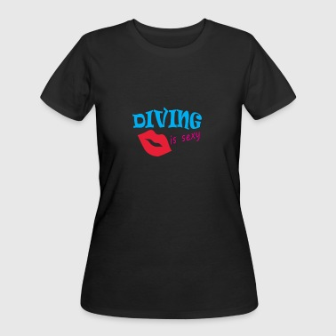 Diving Is sexy - Women's 50/50 T-Shirt