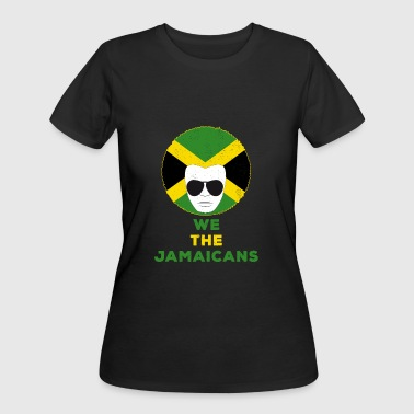 We The Jamaicans Jamaica Flag American Pride - Women's 50/50 T-Shirt