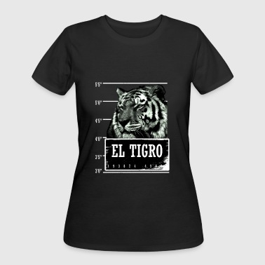 Animal Prints - El Tigro - Women's 50/50 T-Shirt