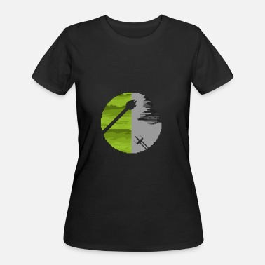 Endor Endor Pixel - Women's 50/50 T-Shirt