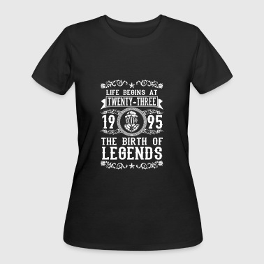 23th Birthday 1995 23 23th Birthday years Legends gift - Women's 50/50 T-Shirt